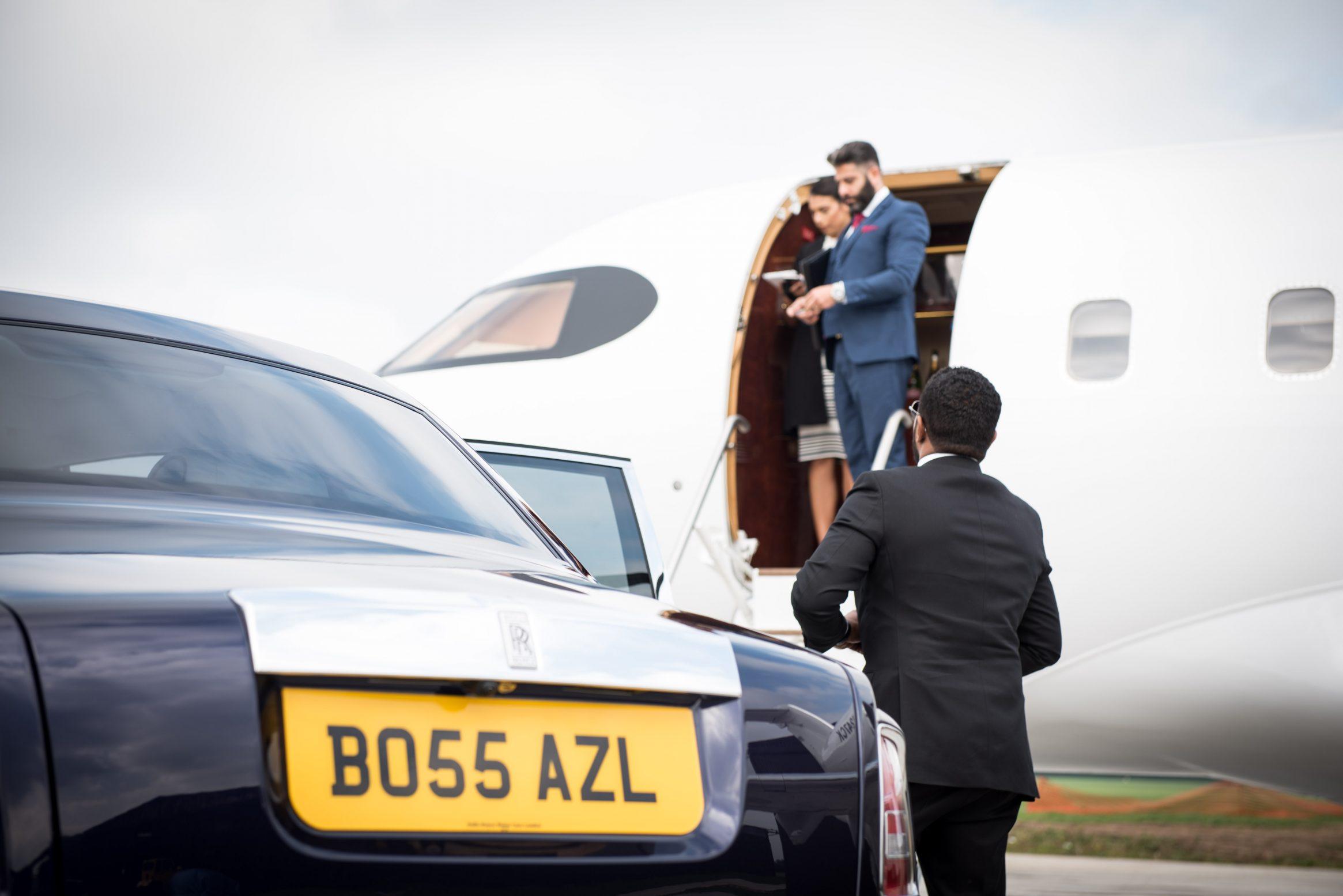 London City Airport Luxury Chauffeur Car Transfer